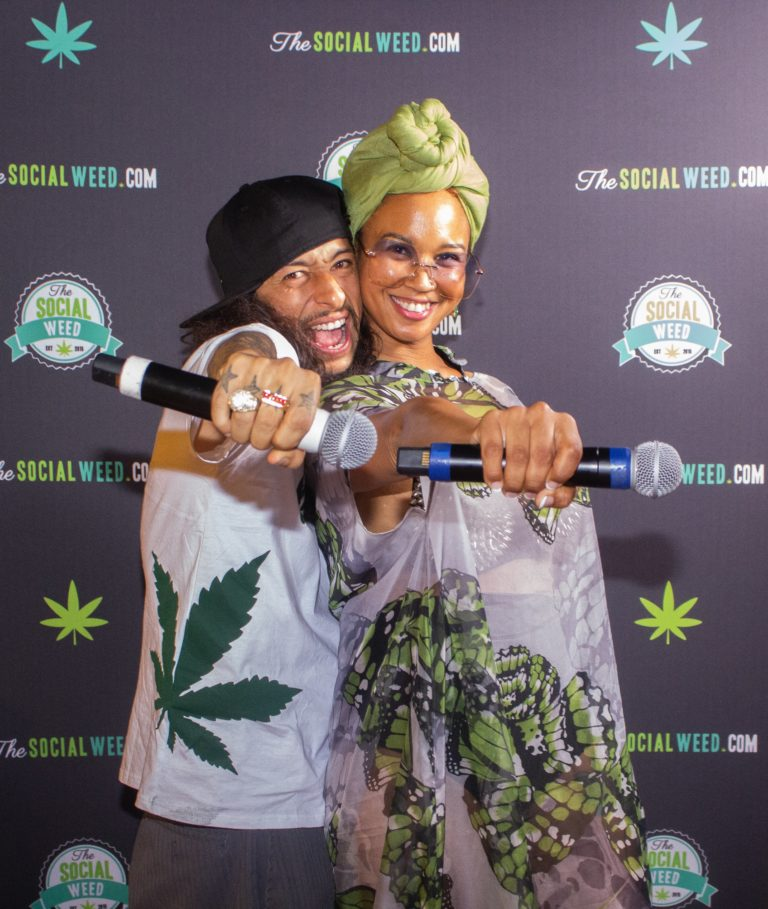 Modest Jones and Stoner Rob at Culture & Cannabis August