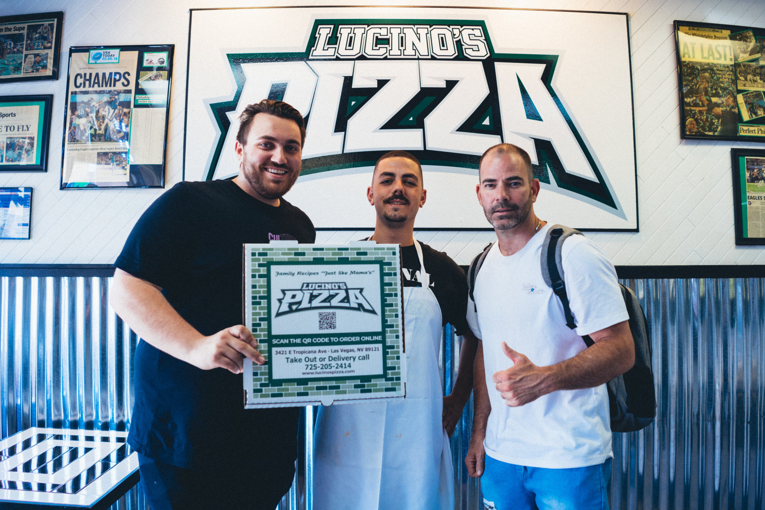 Authentic East Coast Eats from Lucino's Pizza