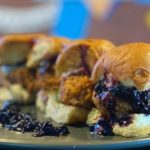 Blueberries and Ribs At Smoked Burgers & BBQ: Culture is Food
